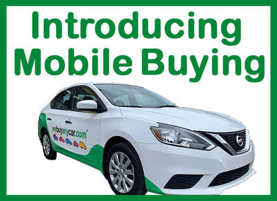 Sell Your Car From Home. We Buy Any Car® Mobile Car Buyer Comes to Your House